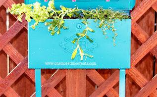 planting a herb garden in a mailbox, gardening, Herb garden in Mailbox