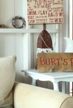 coastal cottage living room, home decor, living room ideas, painting