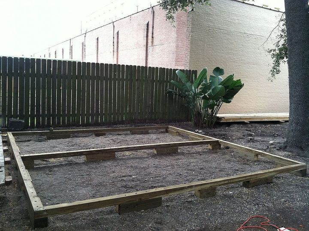 Backyard Deck In New Orleans Hometalk