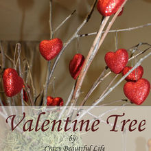 valentine tree, seasonal holiday d cor, valentines day ideas