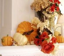 a stylist s top five tips for seasonal displays, seasonal holiday decor, even a small mantel can hold a detailed display