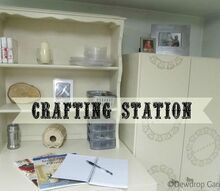 a new place to craft, craft rooms