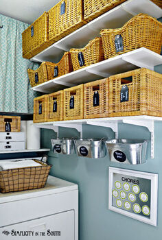 laundry room reveal, cleaning tips, doors, laundry rooms, organizing