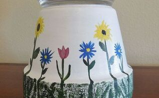 seasonal candy dish from a flower pot, crafts, repurposing upcycling
