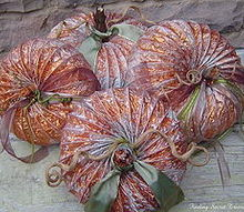 fall pumpkins from dryer vents, repurposing upcycling, seasonal holiday d cor