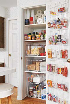 tips for a blissfully organized pantry, closet, organizing, Clear The Clutter Group Label
