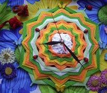 post, home decor, Mandala Clock