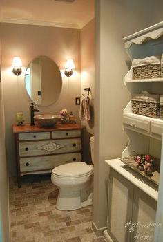 bathroom renovation, bathroom ideas, home decor, a long narrow bathroom can be a little tricky