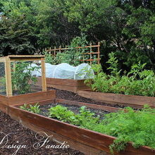 raised bed gardening, gardening, raised garden beds, We built 4 raised beds in our North garden this year