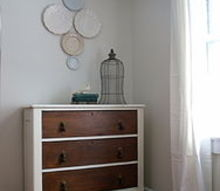 25 refurbished dresser, painted furniture