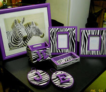 zebra print projects with purple accents, crafts, It all started when I found 8 sheets of Zebra Print Foam on clearance at Walmart for 50 cents each