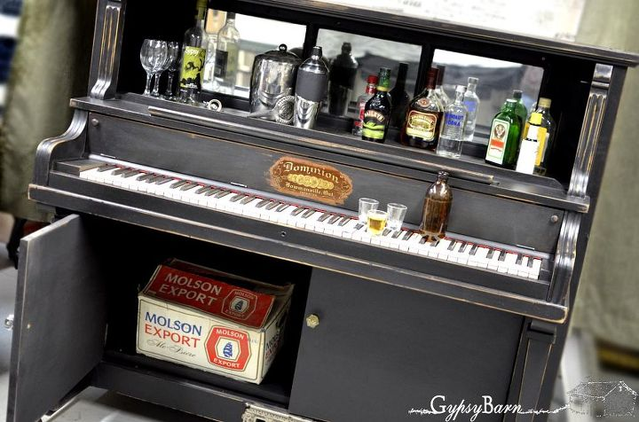 repurposed piano with many options for functionality hometalk. Black Bedroom Furniture Sets. Home Design Ideas