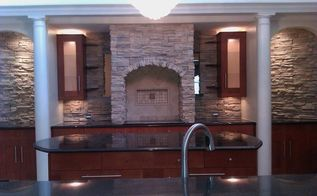 well here are a few pics of the first kitchen remodel when my client ask me to, home decor, home improvement, kitchen design