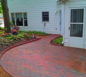 Installing Pavers Over Your Existing Patio Is A Great Way To Change The  Look Of Your