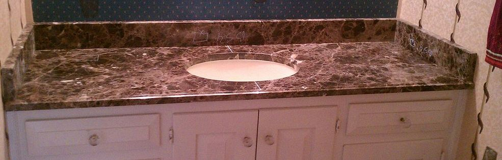 Granite Covered Countertops : Atlanta granite custom countertops - Stone Solutions Portfolio ...