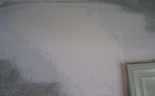 how to repair settling cracks in the drywall this is only a patch so if, home maintenance repairs, how to, Apply 2 3 coats of joint compound sand and prime