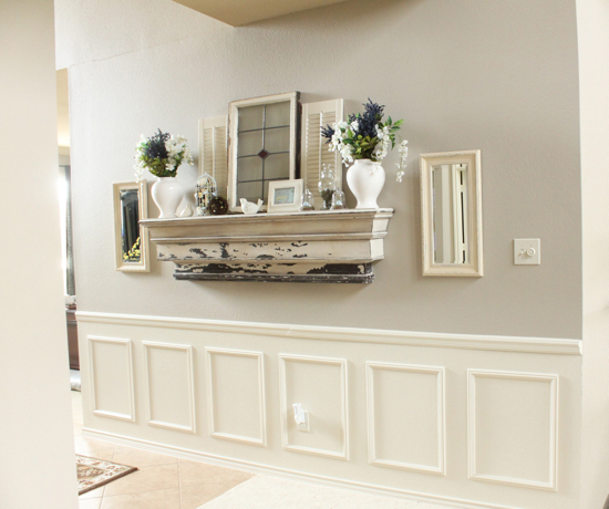 Fake Wainscoting Tutorial