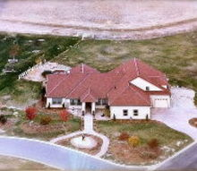 aerial view, real estate