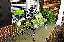 front porch makeover, container gardening, curb appeal, flowers, gardening, outdoor living, porches