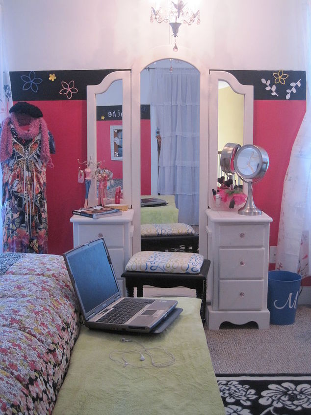 One Of My Latest Projects Teen Girl S Room Gets A New Look Bedroom Ideas