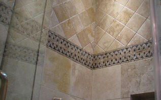 these are a few photos of a bathroom remodel we did to update this 1928 bathroom, bathroom ideas, remodeling, This shower is as open as the previous shower was closed Check our the following before photos