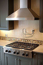 custom kitchen and deck in morningside, decks, home improvement, kitchen design