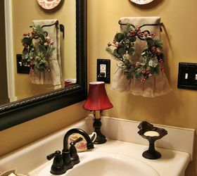 My French Country Guest Bath, Bathroom Ideas, Home Decor, A Mirror And  Fixtures
