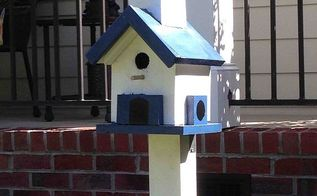 a birdhouse that houses no birds, diy, how to, woodworking projects