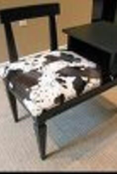 retro table gets a very different look, painted furniture, repurposing upcycling, SOLD