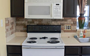 airstone backsplash, kitchen backsplash, kitchen design, tiling