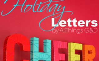 easy diy yarn wrapped holiday letters, crafts, seasonal holiday decor, All you need to make these festive holiday decorations is spray paint yarn tape and scissors