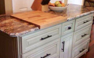 kitchen island, diy, kitchen design, kitchen island, woodworking projects, We made our island using base cabinets from Cabinets to Go We added wheels and had a granite top made for it