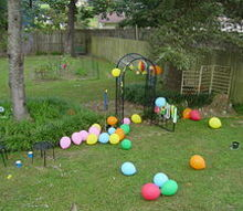 how to have a great teenager party, home decor, gate way to my shade space and my pond