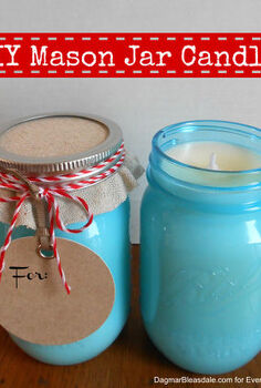 diy mason jar candles and other teacher s gifts, crafts, mason jars, DIY Mason Jar Candle