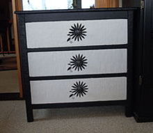 old old dresser, painted furniture