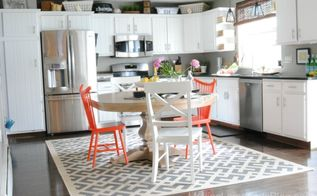 budget friendly modern white kitchen renovation, home decor, home improvement, kitchen design