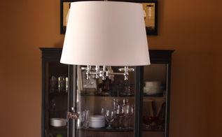 simple light fixture update, lighting