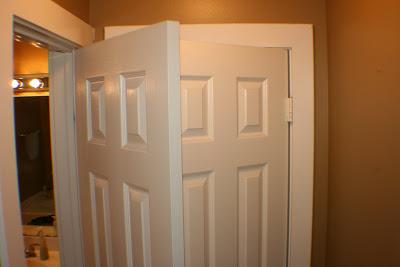 Bathroom Closet Conundrum and Fix – Bathroom Closet Door