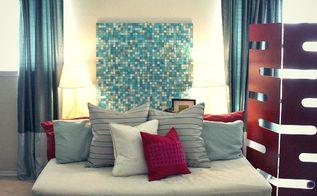 diy pottery barn inspired mosaic, home decor, tiling, wall decor