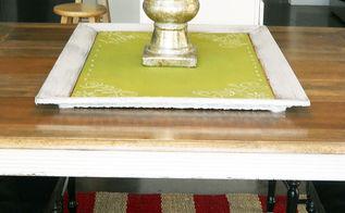 repurpose frame to tray make green chalkboard paint, repurposing upcycling, seasonal holiday d cor