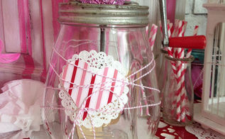 decorating with mason jars vintage jars and bottles, crafts, mason jars, seasonal holiday decor