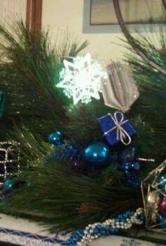 chanukah mantelpiece designs, christmas decorations, seasonal holiday d cor