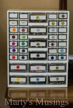 jewelry organization earrings and bracelets, organizing, repurposing upcycling, storage ideas
