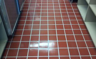 commercial kitchen floor made to look new for less then 50 dollars, flooring, tile flooring, After Grout Shield Color Seal and Enhancer