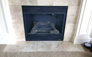 q replacing a gas fireplace with a real wood buringing one, diy, fireplaces mantels, hvac
