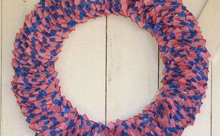american flag toothpick wreath, crafts, patriotic decor ideas, seasonal holiday decor, wreaths