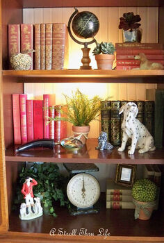 styling bookcases, decks, storage ideas, Colored books add a ton of interest to a bookcase