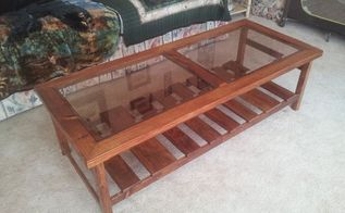 finished coffee table refurbished coffee table, diy, painted furniture, repurposing upcycling, woodworking projects