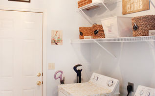 laundry room makeover, home decor, laundry rooms, organizing, Laundry room makeover on a strict budget