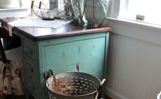 decorating with a demijohn and olive bucket, home decor, kitchen design